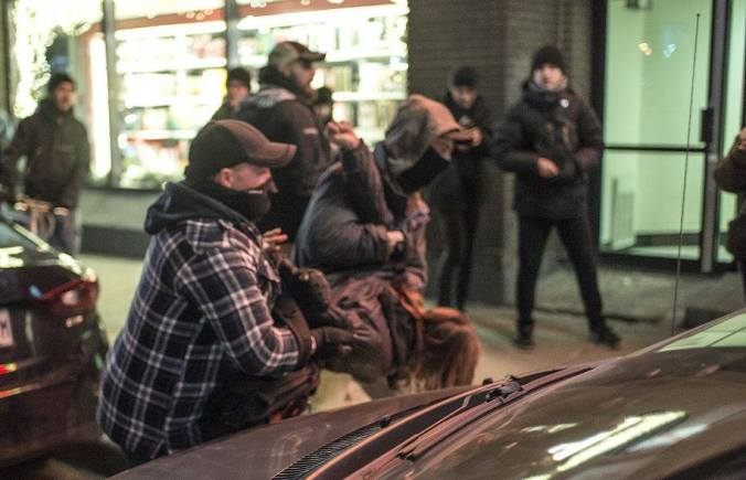 Policiers en civil